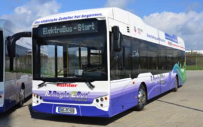 Vier Elektrobusse von ebe EUROPA in Dienst gestellt